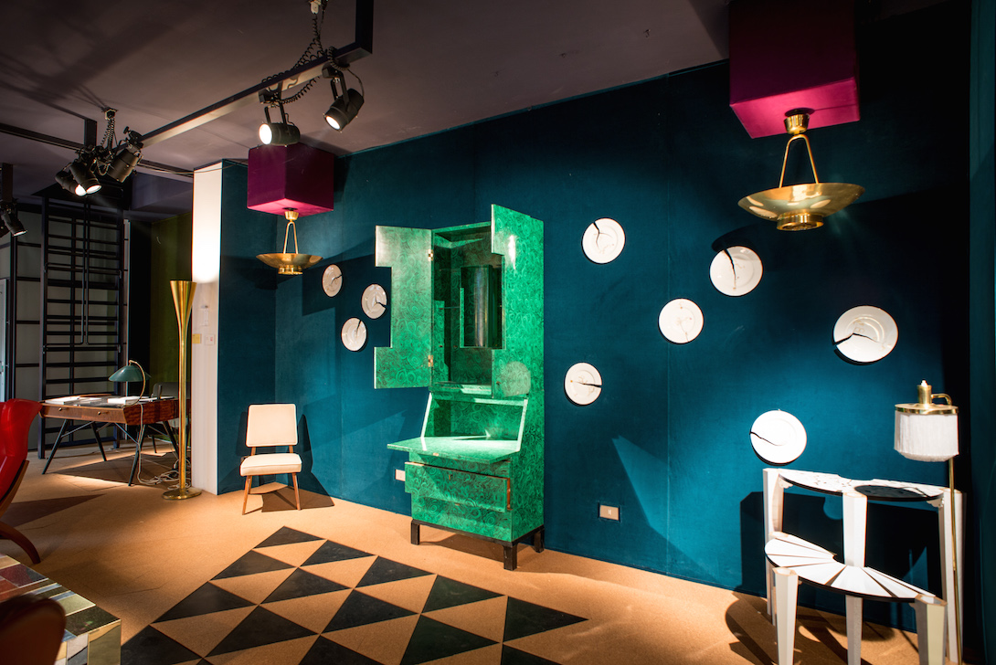 Installation view Nilufar gallery © artflyer