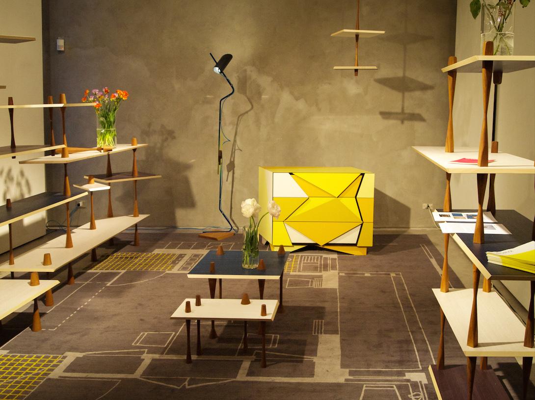 Martino Gamper installation © artflyer