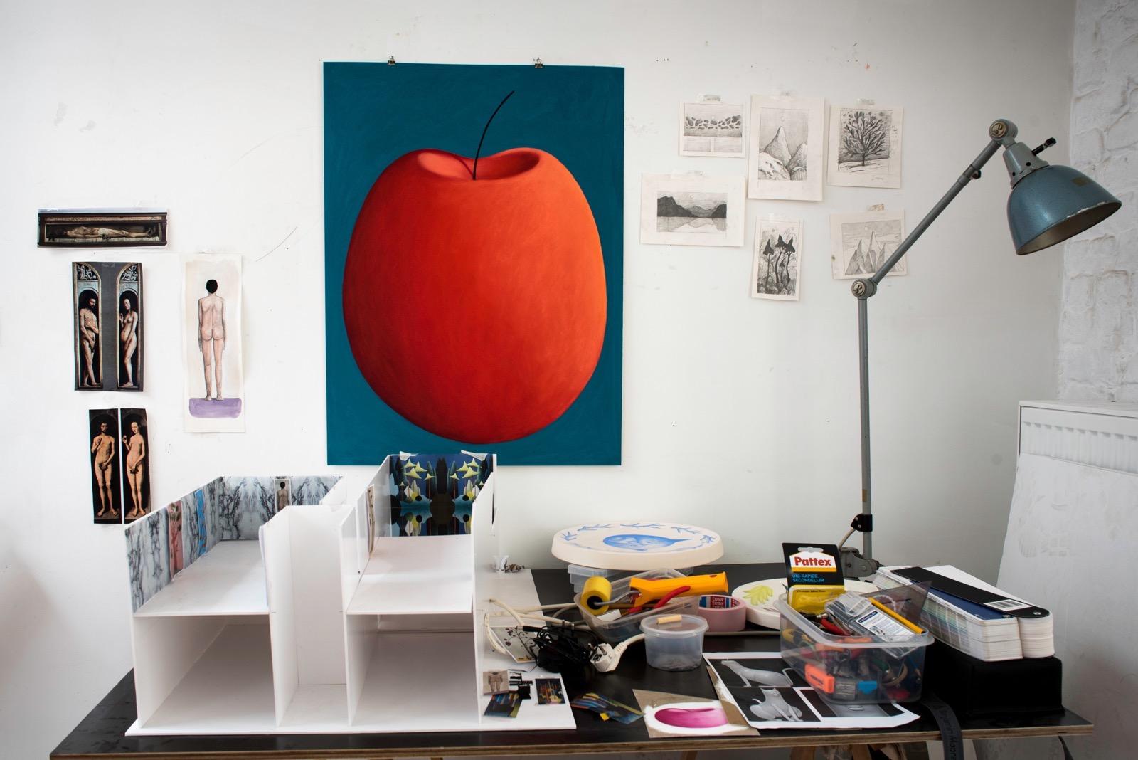 Nicolas Party studio