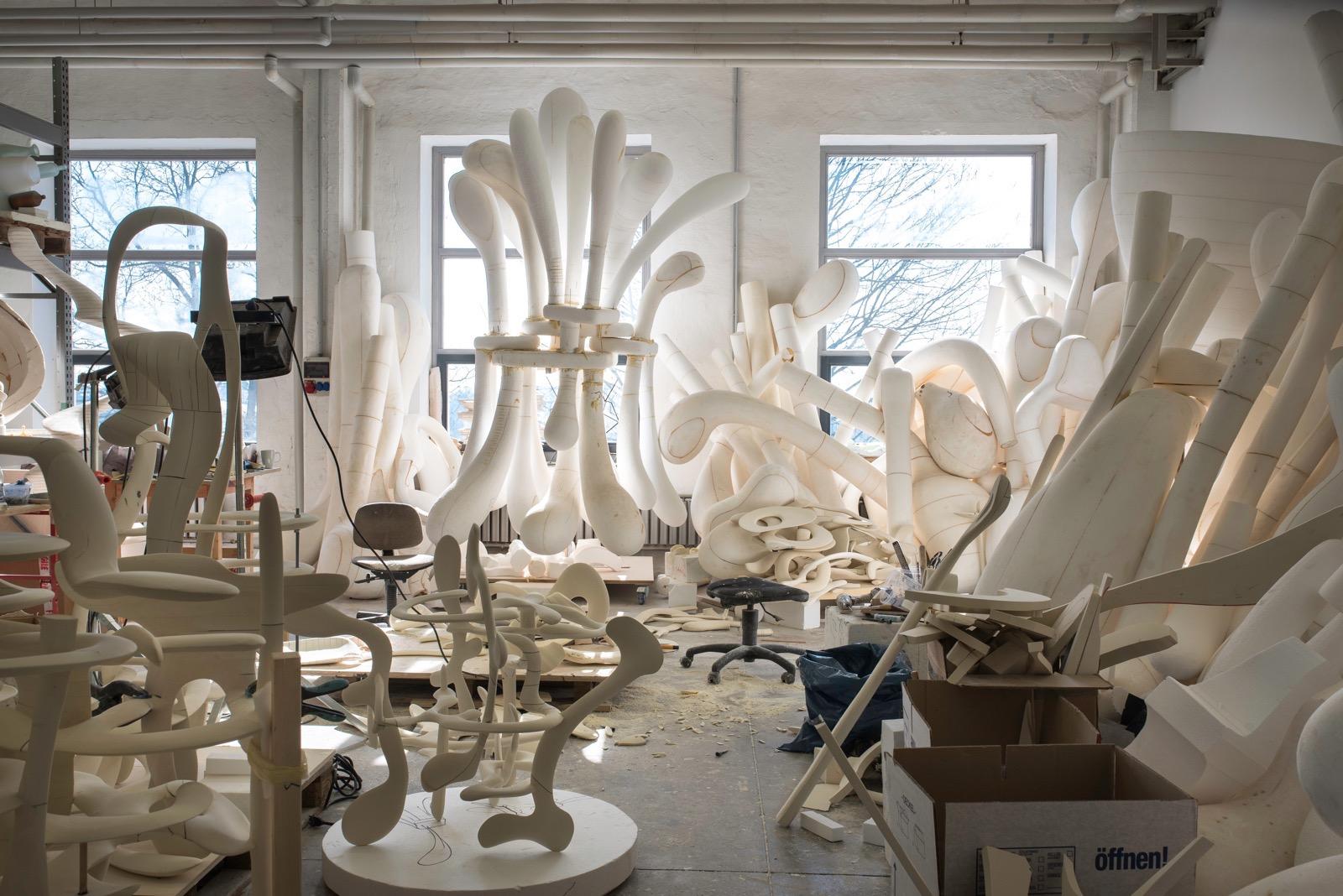Tony Cragg studio