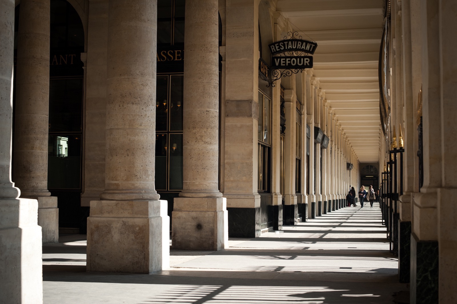 Palais Royal in Paris.