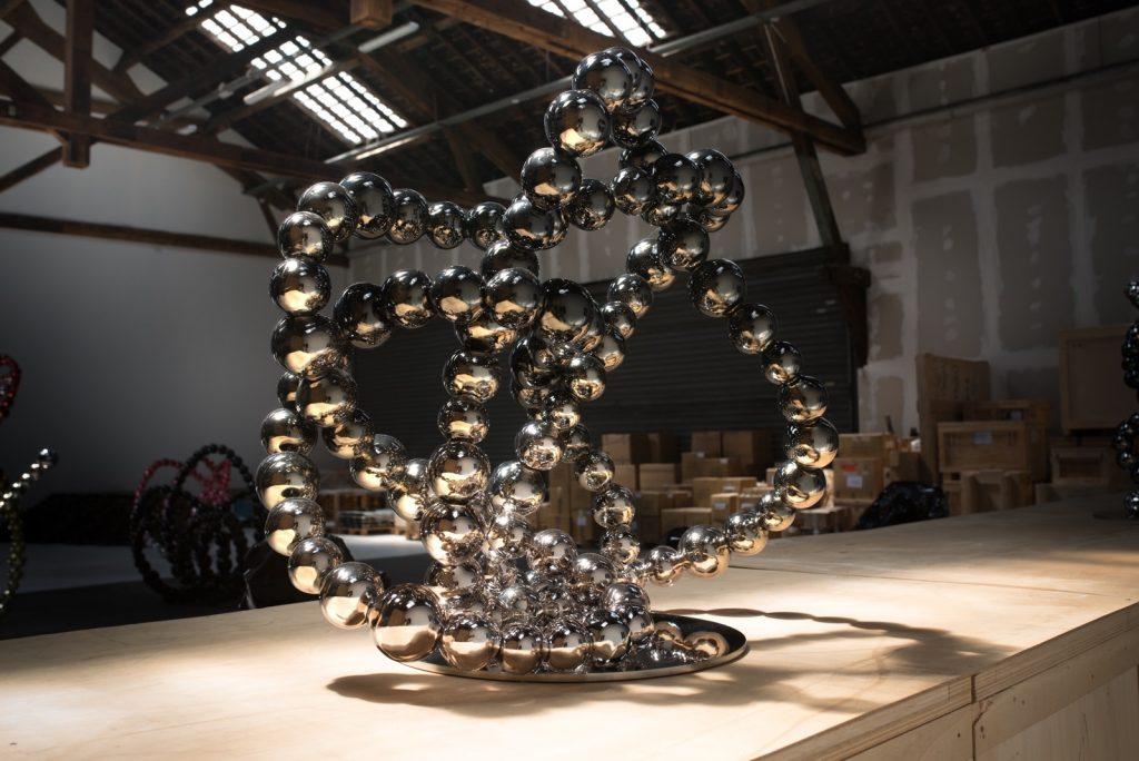 Jean Michel Othoniel studio