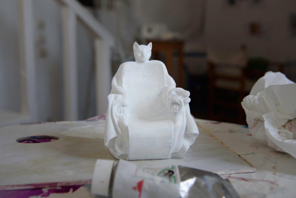 Marina Karella sculpture