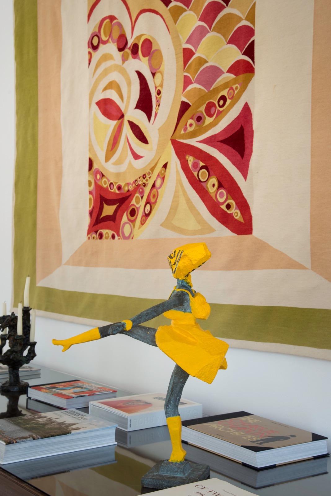 Ju Ming sculpture Francesco Vezzoli tapestry