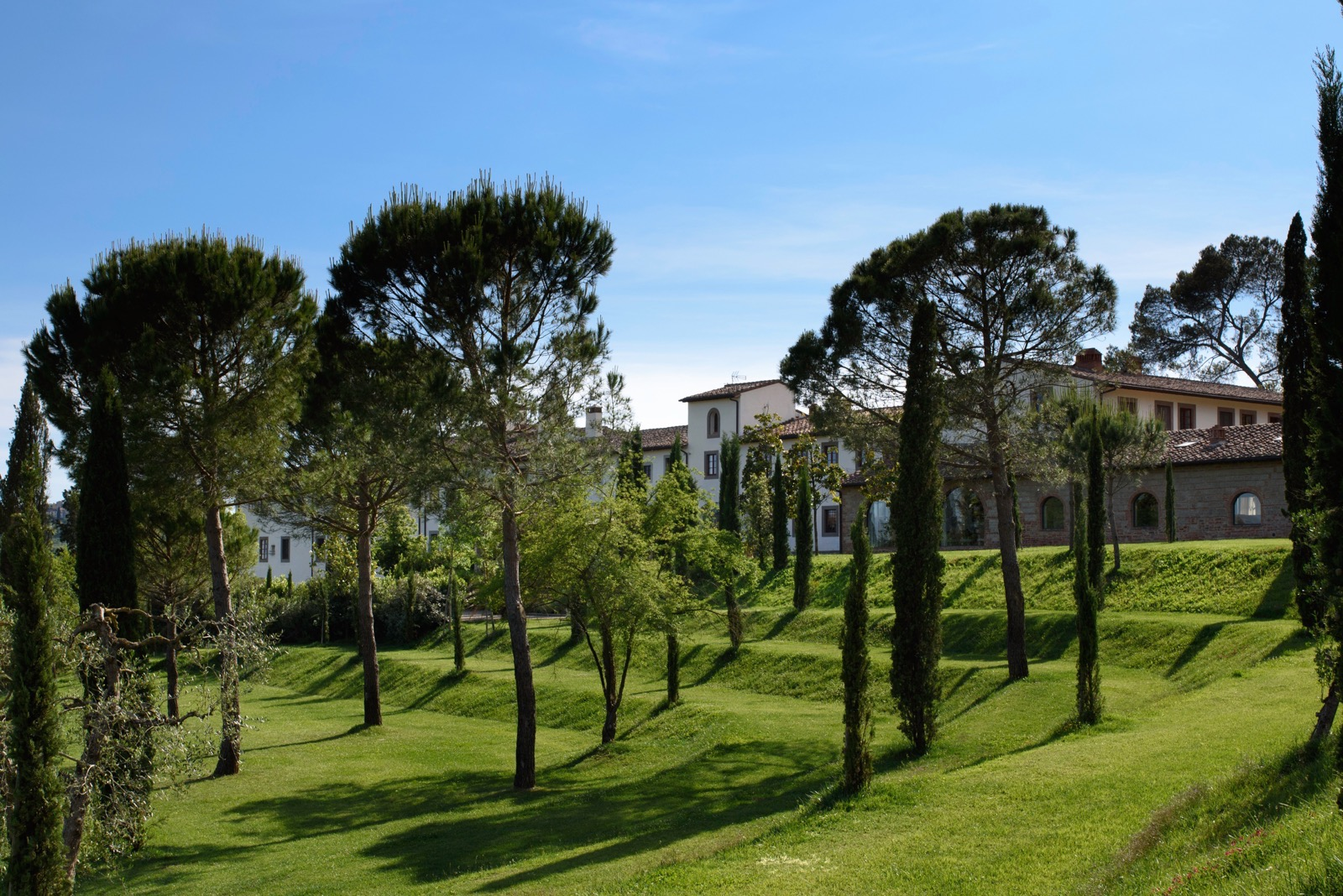view of Laudomia Pucci private estate